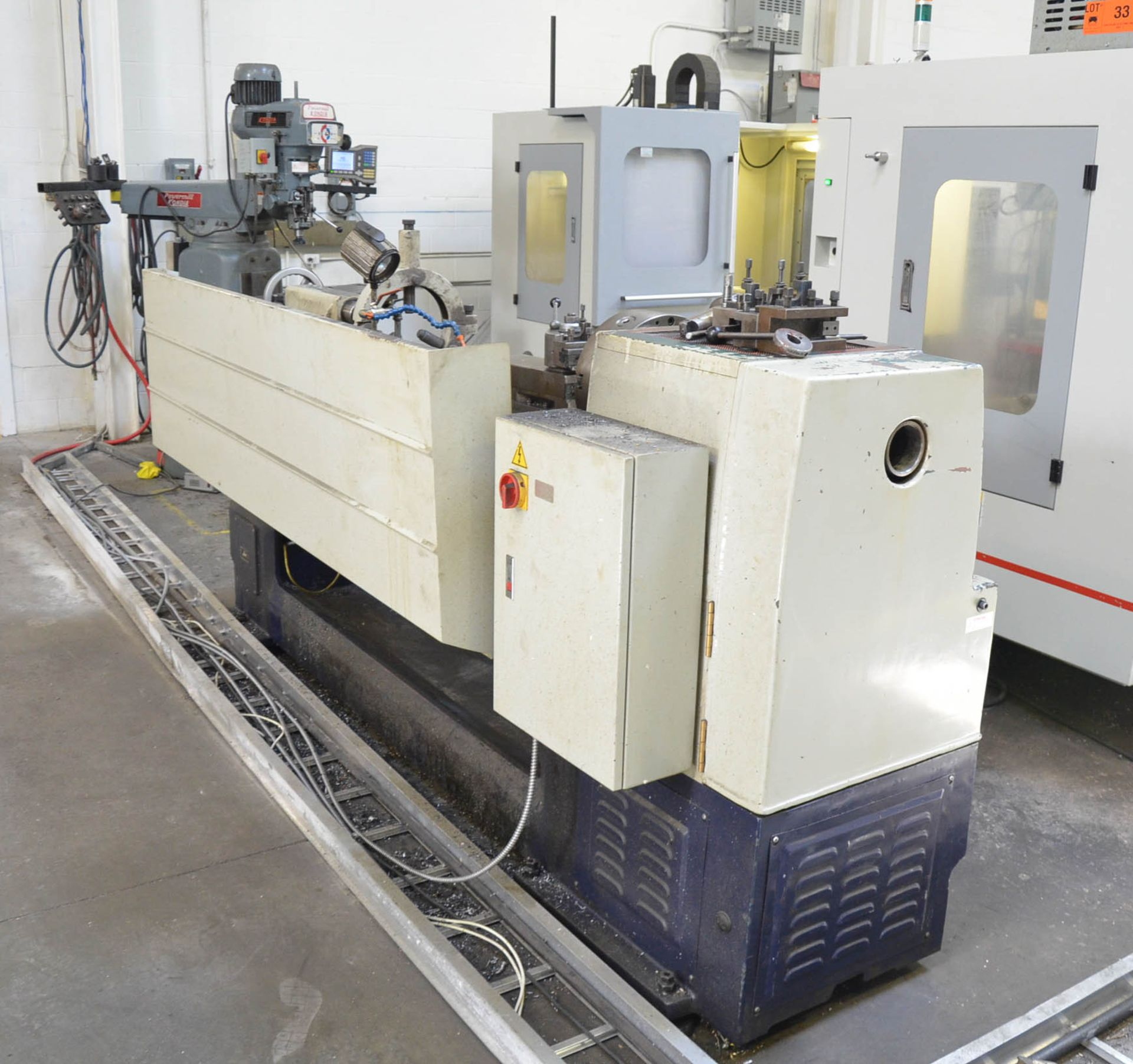 """ECOCA (2012) SJ-2260G GAP BED ENGINE LATHE WITH 22"""" SWING OVER BED, 30"""" SWING IN THE GAP, 60"""" - Image 9 of 9"""