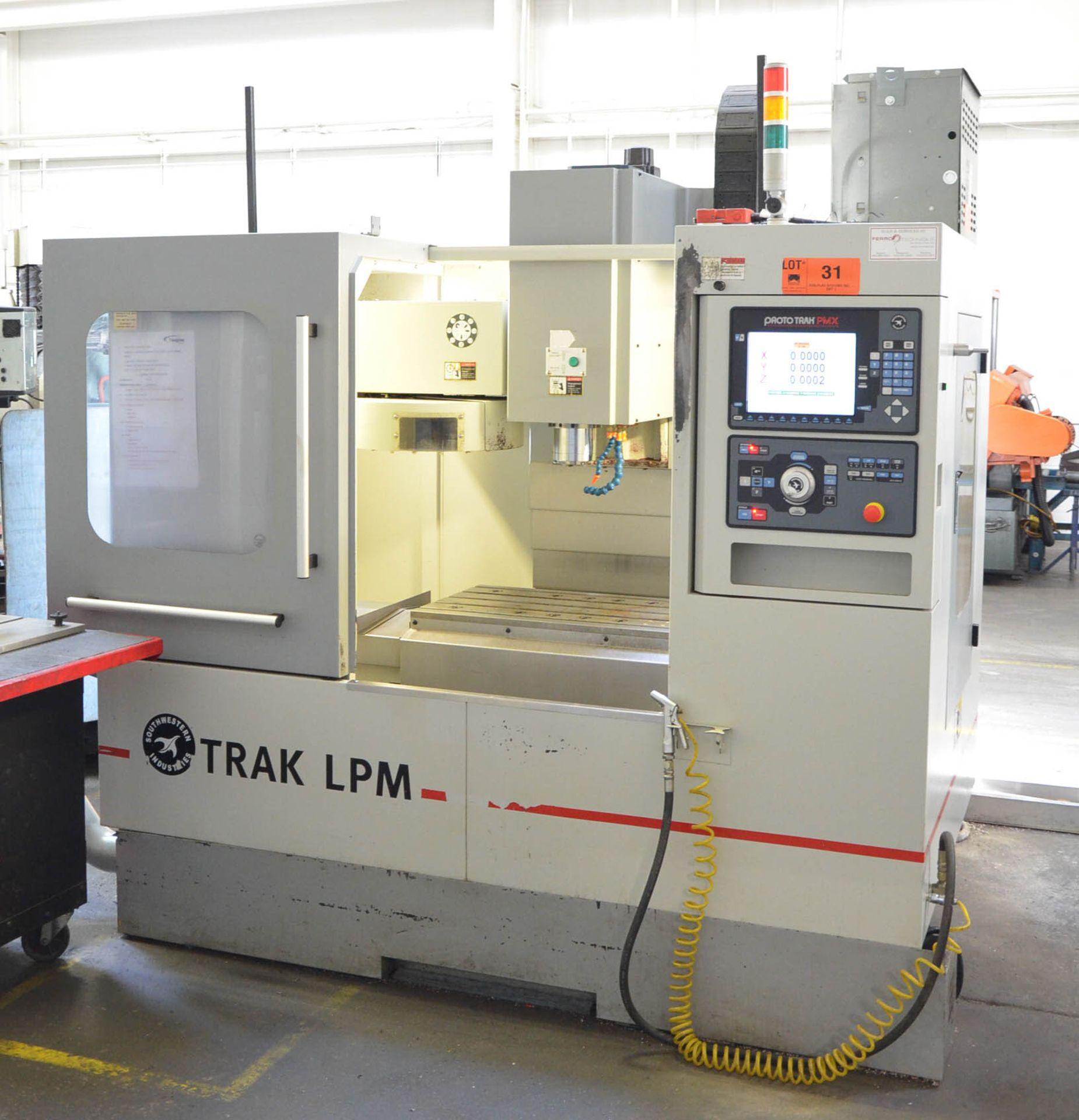 SWI (2014) TRAK LPM 4-AXIS READY CNC VERTICAL MACHINING CENTER WITH PROTO TRAK PMX CNC CONTROL, 19. - Image 2 of 12