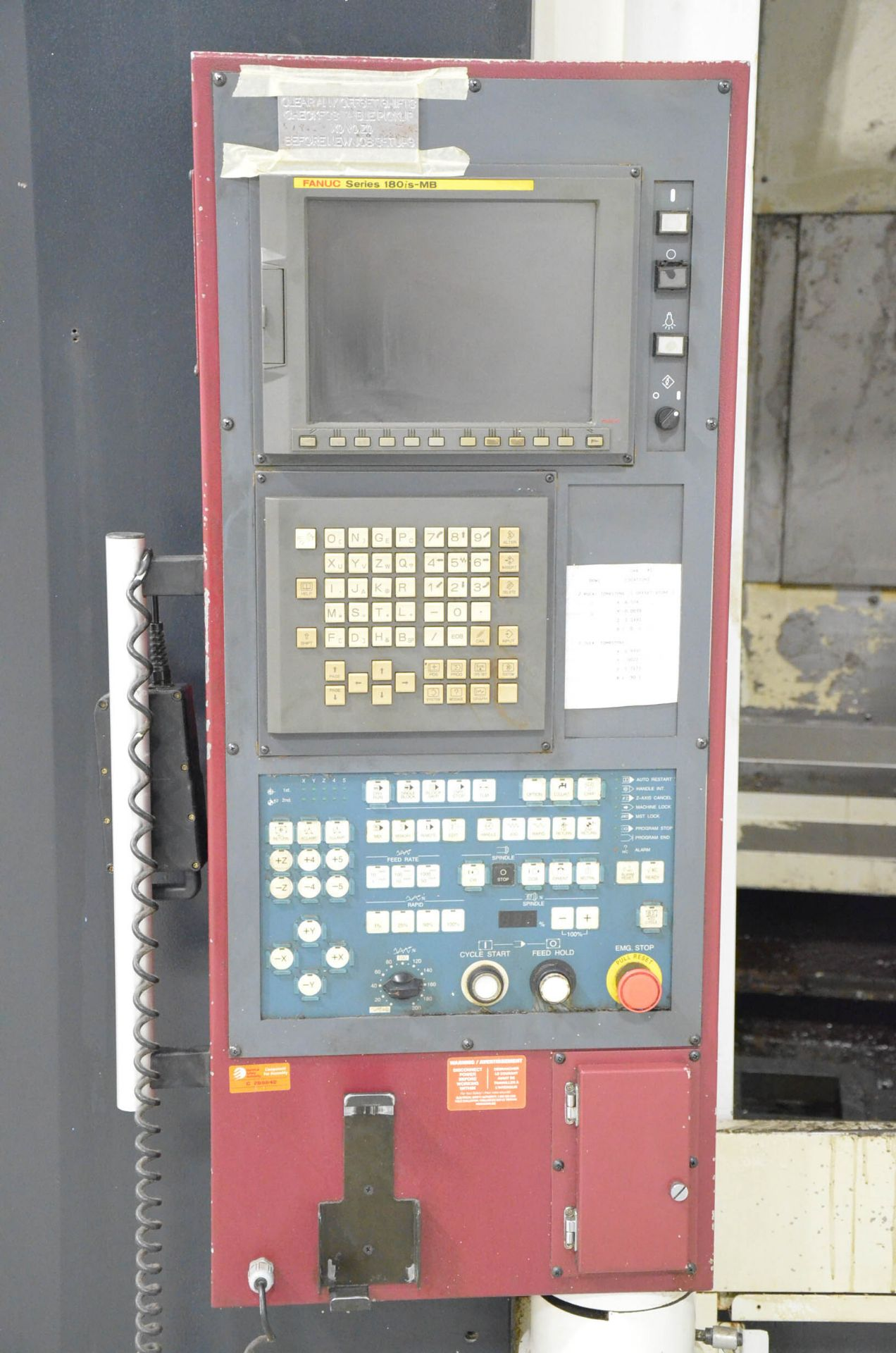 OKK (2006) HP500S TWIN-PALLET CNC HORIZONTAL MACHINING CENTER WITH FANUC 180I S-MB CNC CONTROL, 19. - Image 4 of 6