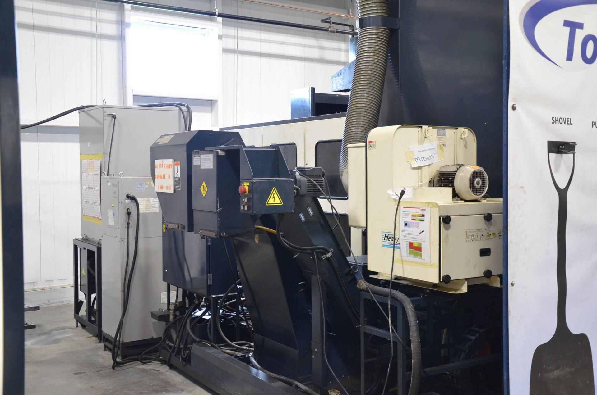 "MAKINO (2013) MCC2013 VG 6-AXIS CNC MACHINING CENTER WITH MAKINO PROFESSIONAL 5 CNC CONTROL, 59"" X - Image 9 of 11"