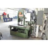 """MARVEL SERIES 8 TILTING HEAD SLIDING FRAME VERTICAL BAND SAW WITH 17"""" THROAT, 12"""" MAX WORKPIECE"""