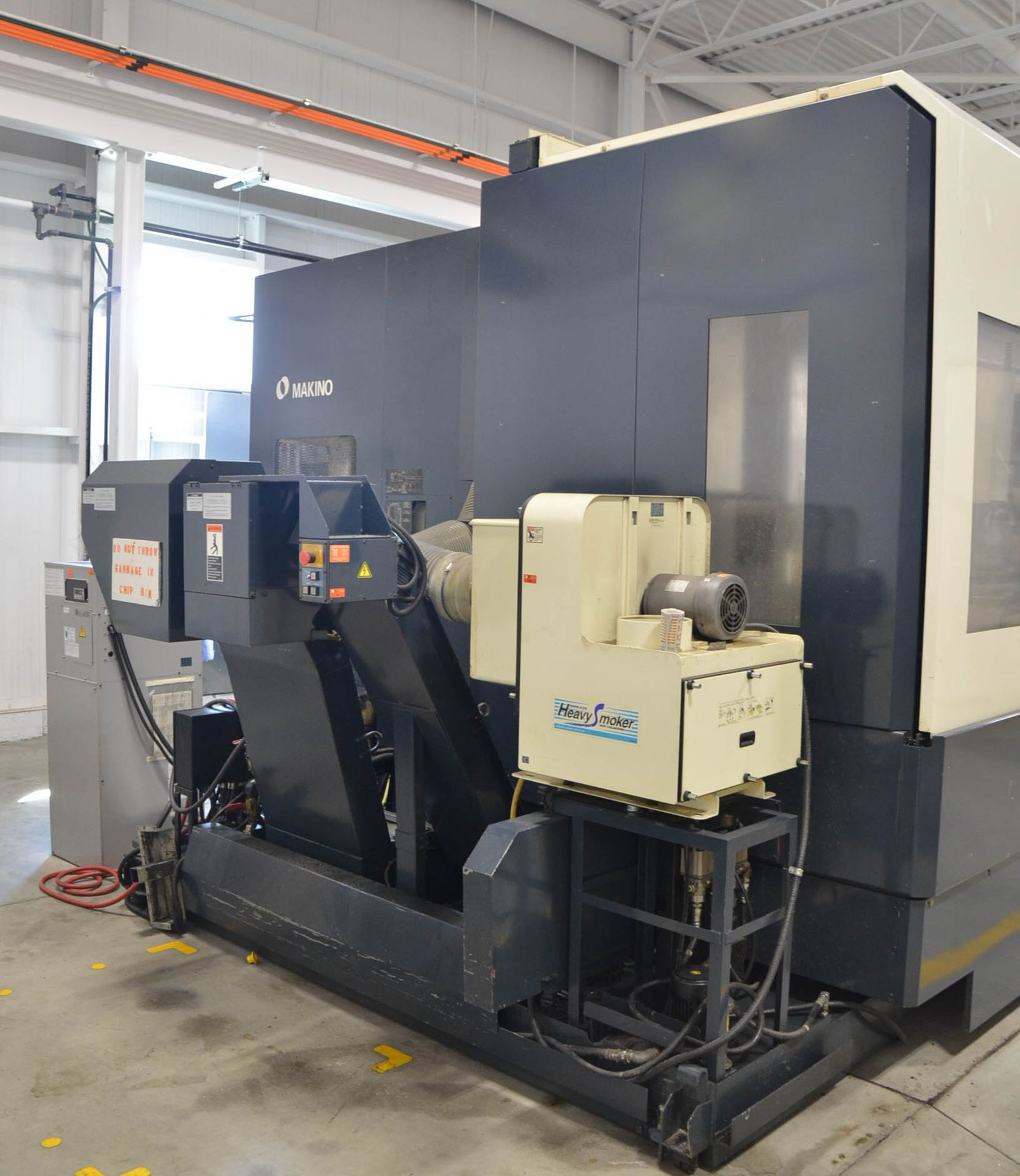 MAKINO (2008) MCC2013 4-AXIS HORIZONTAL MACHINING CENTER WITH MAKINO PROFESSIONAL 5 CNC CONTROL, - Image 6 of 12