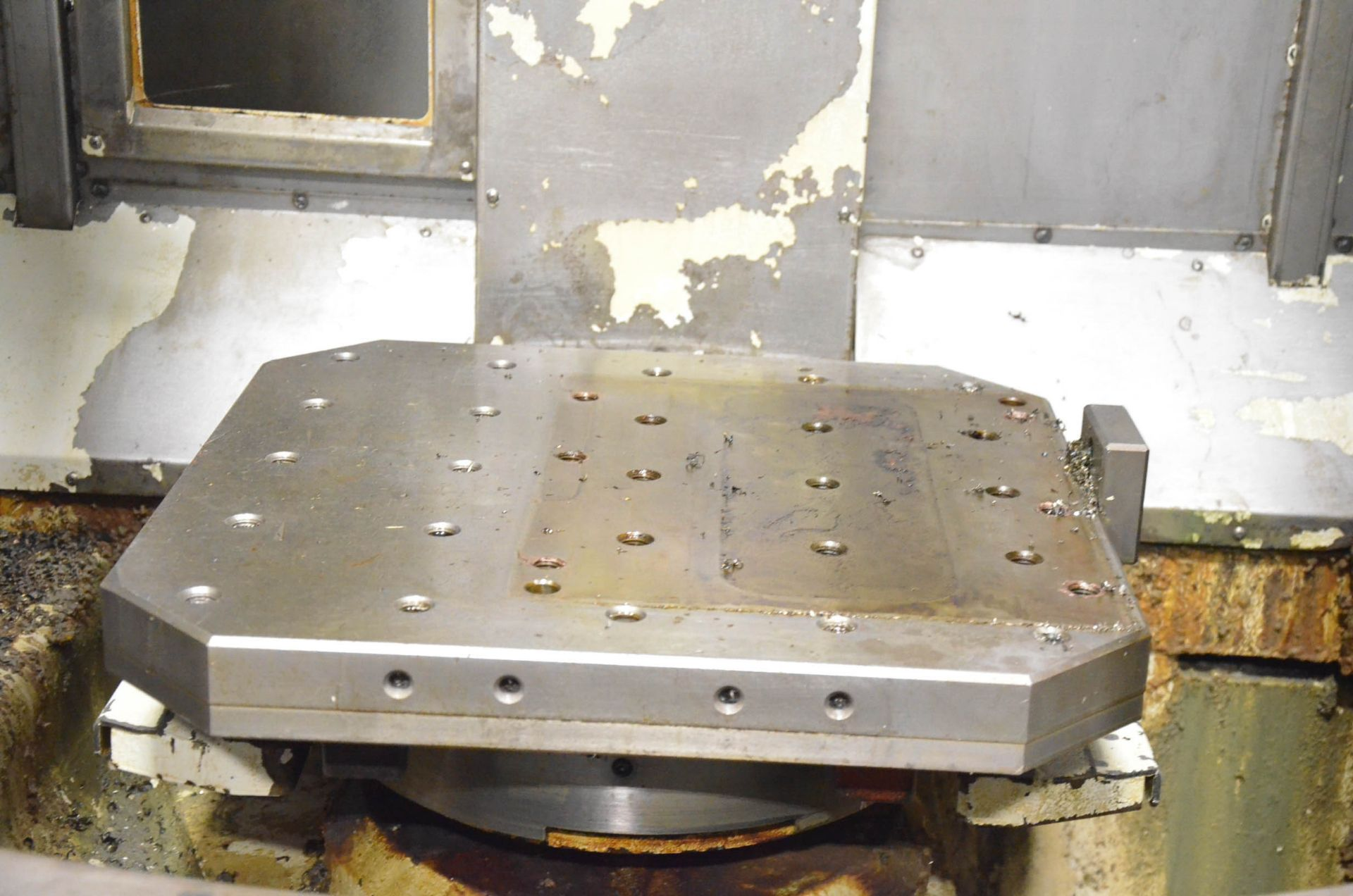 OKK (2006) HP500S TWIN-PALLET CNC HORIZONTAL MACHINING CENTER WITH FANUC 180I S-MB CNC CONTROL, 19. - Image 3 of 6