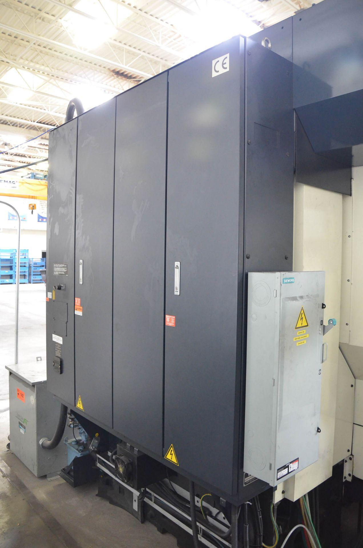 MAKINO (2008) V56 GRAPHITE CNC VERTICAL MACHINING CENTER WITH MAKINO PROFESSIONAL 5 TOUCHSCREEN - Image 5 of 10