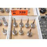 LOT/ (8) HSK-E50 TOOL HOLDERS