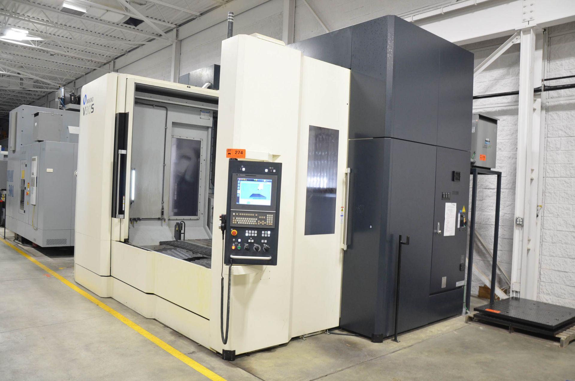 "MAKINO (NOV 2018) V90S 5-AXIS CNC MACHINING CENTER WITH MAKINO PROFESSIONAL 6 CNC CONTROL, 78.74"" - Image 3 of 15"