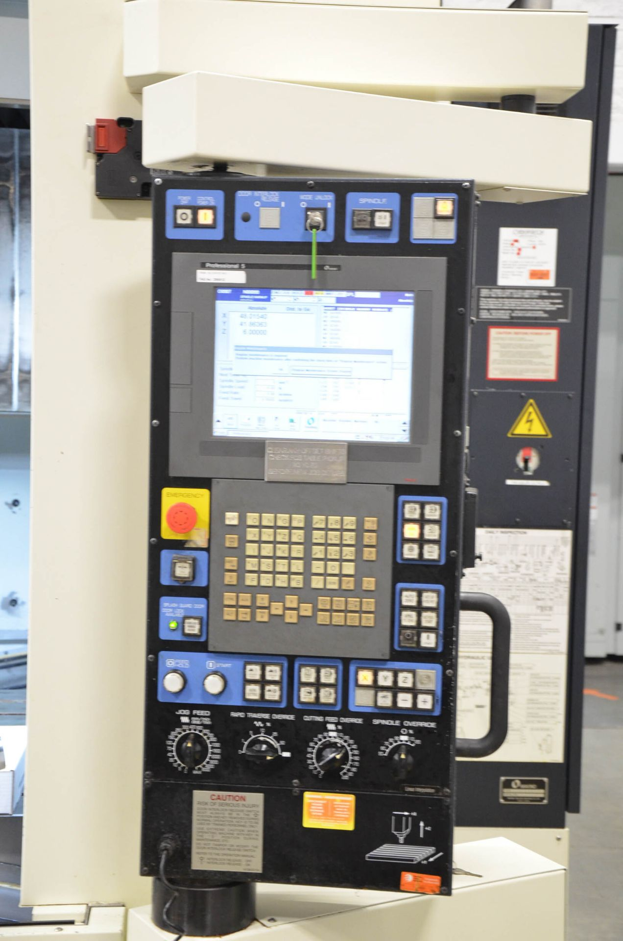 MAKINO (2008) V99L(#50) CNC VERTICAL MACHINING CENTER WITH MAKINO PROFESSIONAL 5 CNC CONTROL, 39. - Image 12 of 12
