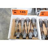 LOT/ (7) HSK-A63 TOOL HOLDERS