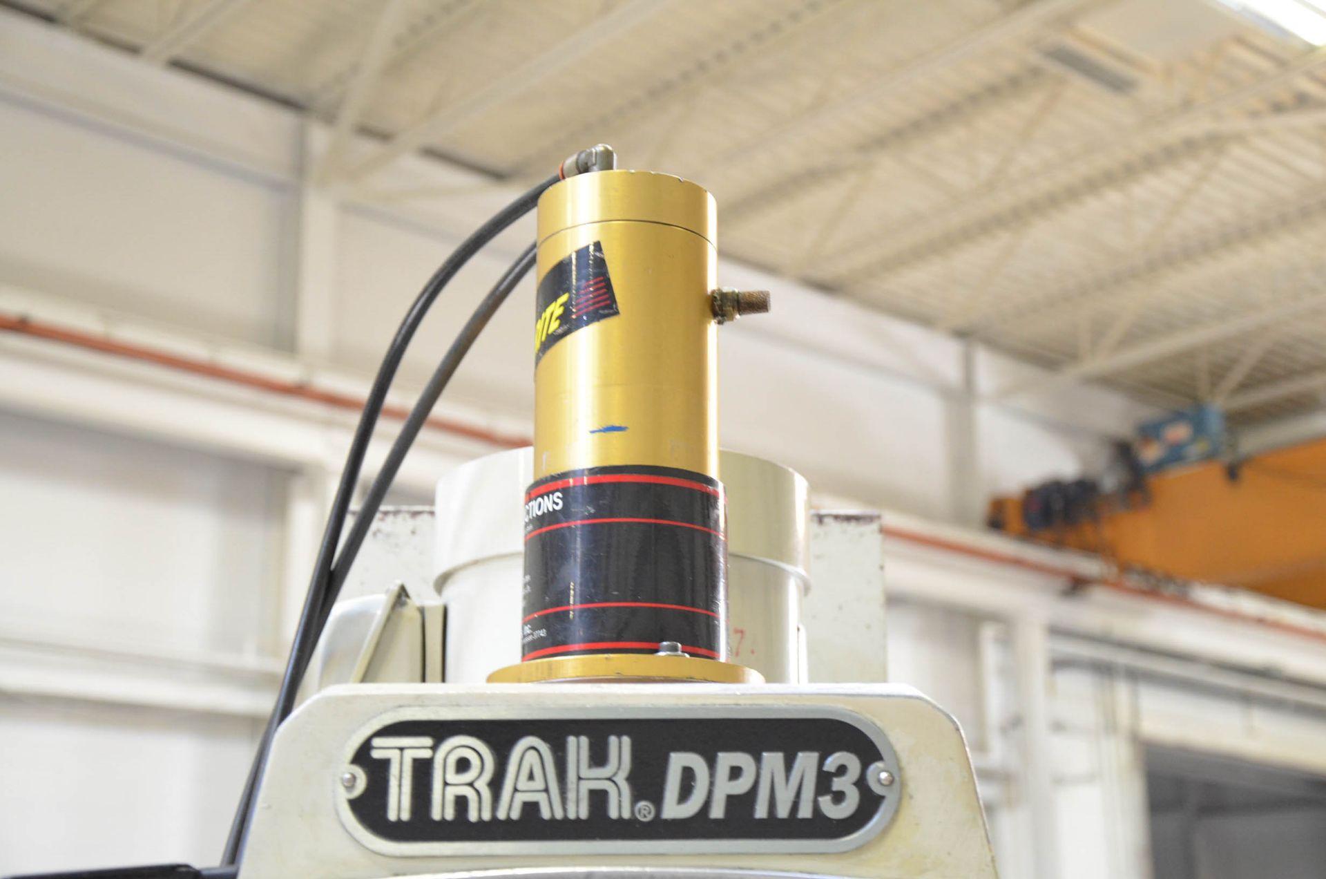"TRAK DPM3 CNC VERTICAL TURRET MILLING MACHINE WITH PROTO TRAK (2007) SMX CNC CONTROL, 10"" X 50"" - Image 4 of 7"