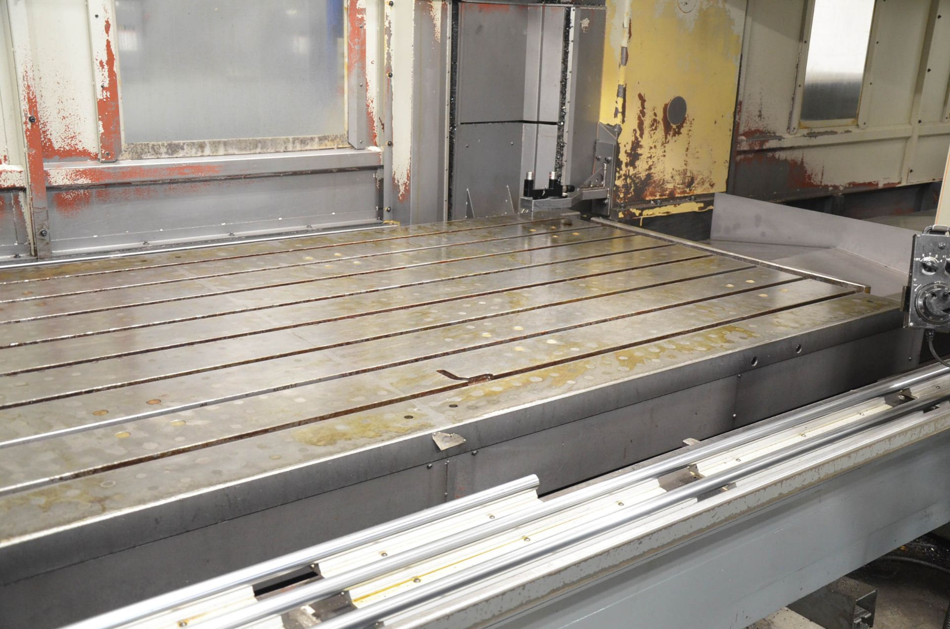 AWEA (2005) SP3016HSS GANTRY-TYPE CNC VERTICAL MACHINING CENTER WITH FANUC SERIES 18I-MB CNC - Image 7 of 12