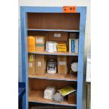 LOT/ CABINET WITH CONTENTS - FILTERS AND PARTS