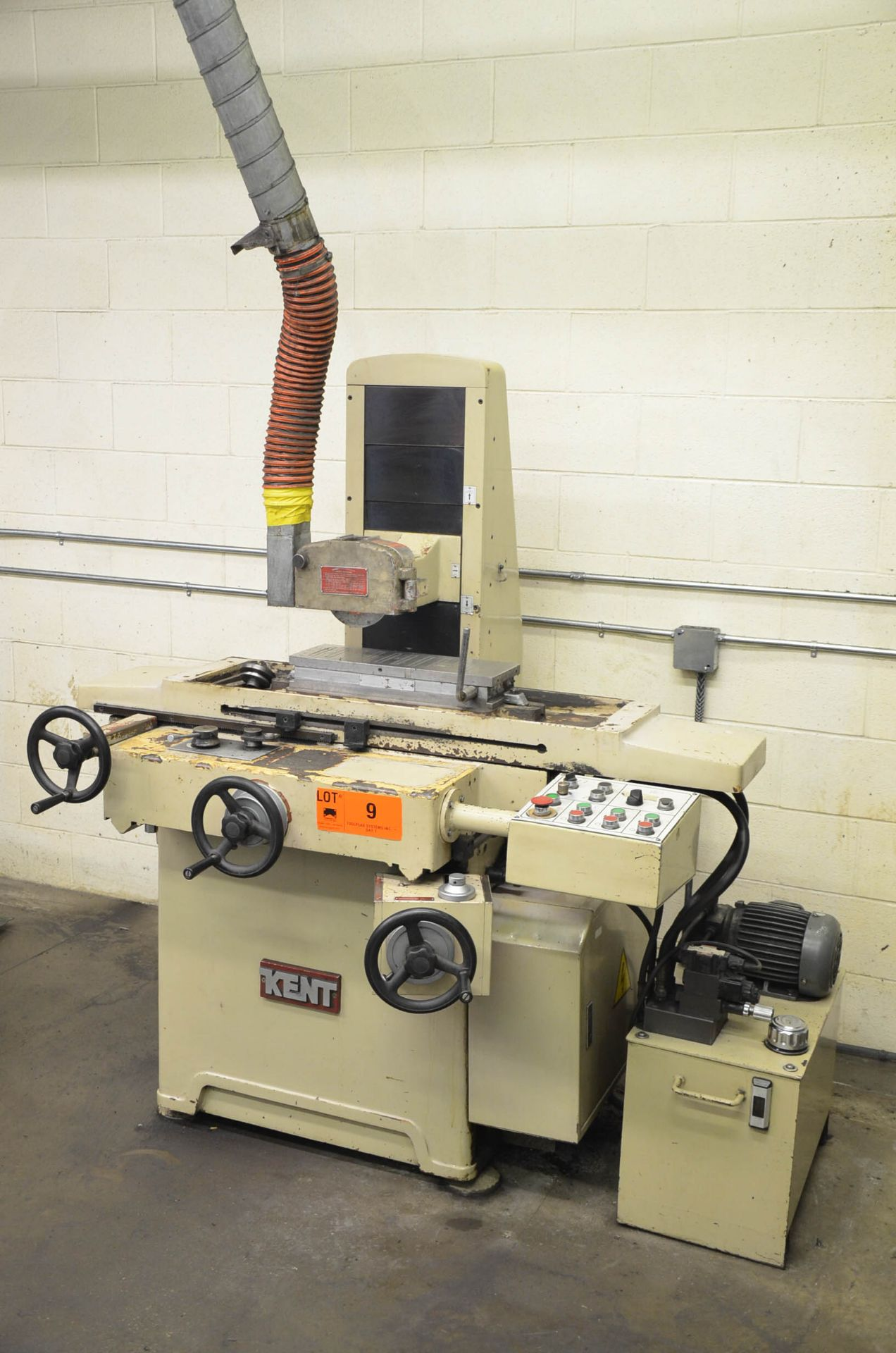 """KENT CGS-818AHD HYDRAULIC SURFACE GRINDER WITH 6""""X18"""" MAGNETIC CHUCK, 8"""" WHEEL, INCREMENTAL DOWN- - Image 3 of 5"""