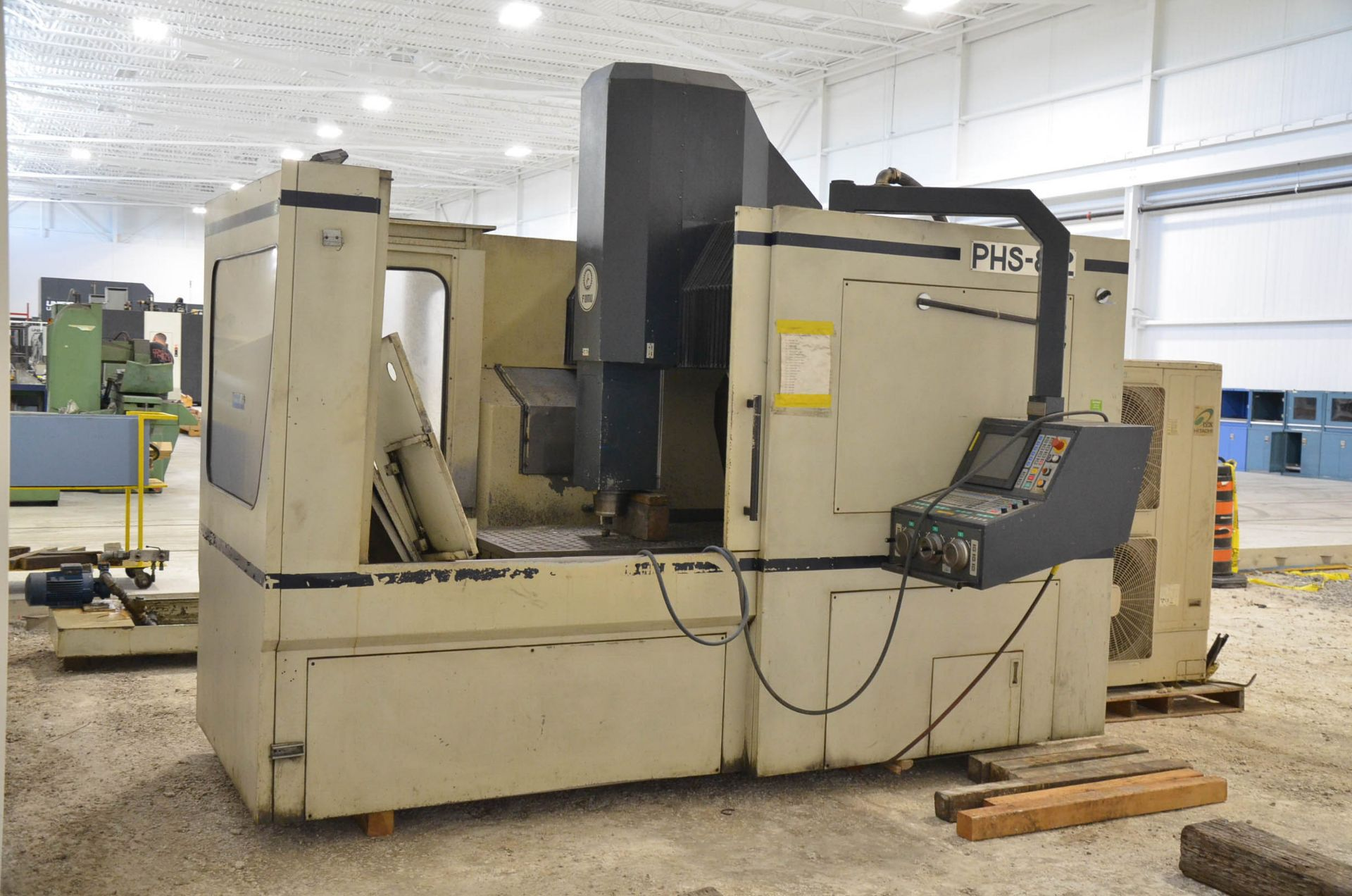LOT/ SURPLUS MACHINERY AND EQUIPMENT CONSISTING OF PARPAS FAMU (1998) PHS-812 GANTRY-TYPE CNC - Image 3 of 6