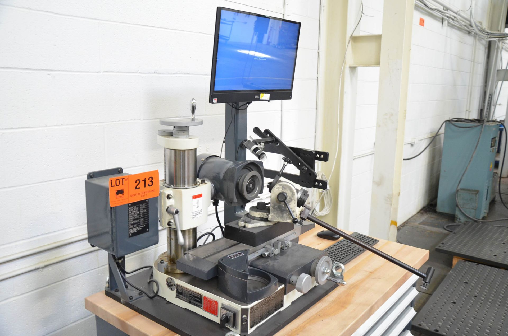 CHEVALIER (2020) FCG-610 BENCH TYPE TOOL AND CUTTER GRINDER WITH DIGITAL CAMERA INSPECTION SYSTEM, - Image 2 of 8