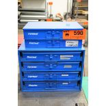 LOT/ FASTENAL INDEX CABINETS WITH HARDWARE