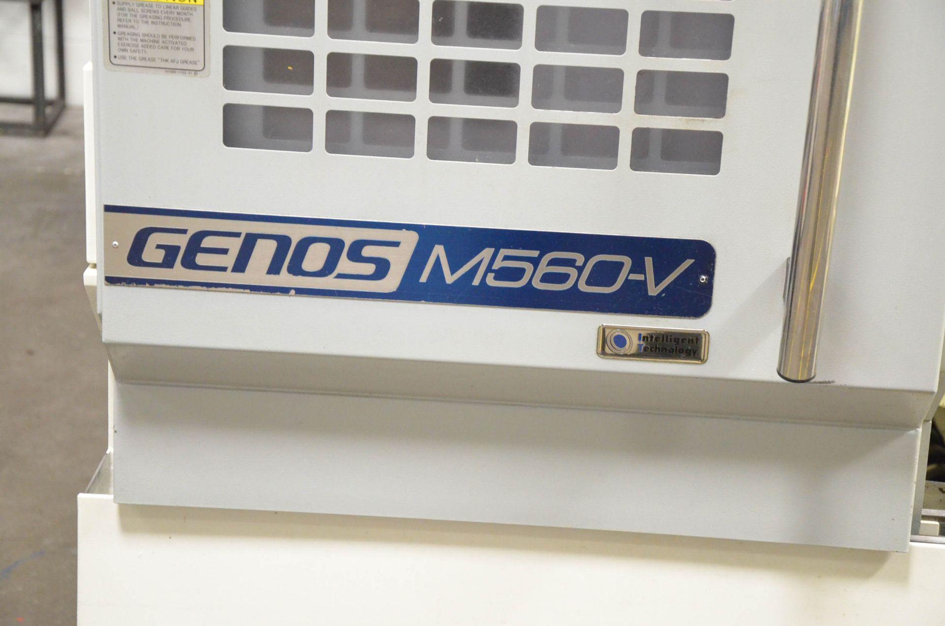 """OKUMA (DEC-2014) GENOS M560-V CNC VERTICAL MACHINING CENTER WITH OKUMA OSP-P300M CNC CONTROL, 22"""" - Image 3 of 12"""