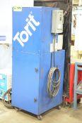 TORIT VS 1500 PORTABLE 5HP WELDING FUME EXTRACTOR, 208V/3PH/60HZ, S/N 6386469