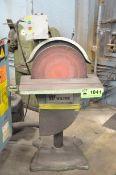 "WILTON 20"" DIAMETER HEAVY DUTY FLOOR TYPE DISC SANDER, 575V/3PH/60HZ, S/N: N/A (CI)"