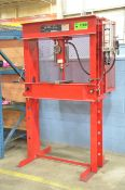 SUNNEX 5250 50 TON CAPACITY H-FRAME SHOP PRESS, S/N: N/A [RIGGING FEES FOR LOT #1000 - $75 USD
