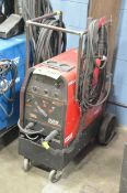 LINCOLN ELECTRIC PRECISION TIG 225 PORTABLE DIGITAL TIG WELDER WITH CABLES AND GUN, S/N: N/A (GAS