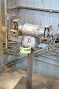 """BALDOR 8"""" DOUBLE END PEDESTAL GRINDER, 110V/1PH/60HZ, S/N XXXX7269 [RIGGING FEES FOR LOT #1040 - $75"""