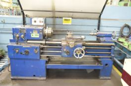 """TOS SN40B ENGINE LATHE WITH 16"""" SWING OVER BED, 42"""" BETWEEN CENTERS, 2"""" SPINDLE BORE, SPEEDS TO 2000"""