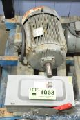 LOT/ BALDOR 15HP/1525RPM/575V/3PH/60HZ ELECTRIC MOTOR WITH DISCONNECT BOX