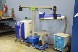 """VISION 150 FASTWELD GMBH DIGITAL LASER WELDING MACHINE WITH 18.5""""X16"""" TABLE, 150W CLASS 4 LASER,"""