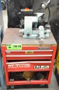 DECKEL SO BENCH TYPE TOOL CUTTER GRINDER WITH MASTERCRAFT TOOLBOX STAND, S/N: 00-27069