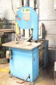 """ER MAIER KM1012 10"""" METAL CUTTING ROLL-IN BAND SAW, S/N 50093 (CI) [RIGGING FEES FOR LOT #1058 - $"""