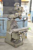 """FIRST LC185VS VERTICAL TURRET MILLING MACHINE WITH 50""""X10"""" TABLE, SPEEDS TO 4500 RPM, HEIDENHAIN"""