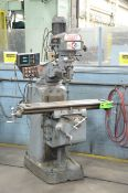 """KONDIA POWERMILL TYPE FV-1 VERTICAL TURRET MILLING MACHINE WITH 48""""X12"""" TABLE, SPEEDS TO 4000 RPM,"""