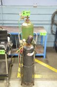 OXY-ACETYLENE TORCH CADDY (GAS BOTTLES NOT INCLUDED)