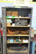 LOT/ HIBOY CABINET WITH WELDING SUPPLIES