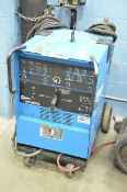 MILLER SYNCROWAVE 250 DX PORTABLE DIGITAL TIG WELDER WITH CABLES AND GUN, S/N: LB271702 (GAS