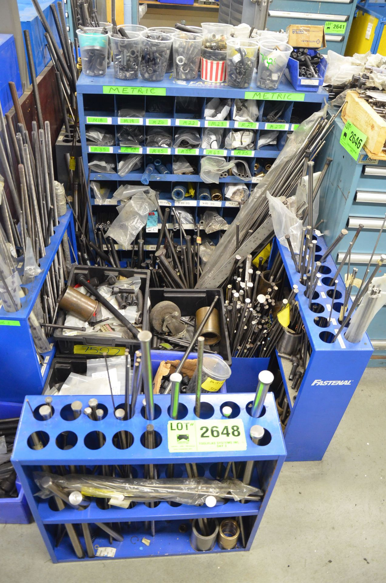 LOT/ EJECTOR PINS AND MOLD HARDWARE