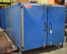 """PARK THERMAL BATCH OVEN ENCLOSURE WITH 55""""X55""""X151""""D INTERNAL DIMENSION, S/N: N/A (CI) [RIGGING"""