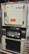 "BLUE M MODEL 206 ELECTRIC CONVECTION OVEN WITH 482 DEG. F. MAX. TEMPERATURE, 16""X19""X18""D INTERIOR"