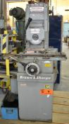 """BROWN & SHARPE 510 MANUAL SURFACE GRINDER WITH 10""""X5"""" MAGNETIC CHUCK, 7"""" WHEEL, S/N: 523-510-717 ("""