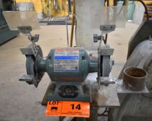 """JET HEAVY DUTY 6"""" DOUBLE END BENCH GRINDER"""