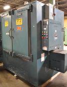 GRIEVE HC-850 NATURAL GAS FIRED HEAT TREAT OVEN WITH 850 DEG. F. MAX. TEMPERATURE, 350,000 BTU/HR, 2