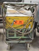 LINDE DC-CC STICK WELDER WITH CABLES & GUN, S/N: N/A
