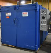 """PARK THERMAL NATURAL GAS FIRED BATCH OVEN WITH 500 DEG. F. MAX. TEMPERATURE, 500,000 BTU/HR, 60"""""""