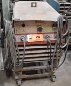 CANOX C-SRH-333 PORTABLE STICK WELDER WITH CABLES & GUN, S/N: CG1925