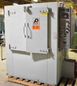 PRECISION QUINCY 38-500CLA NATURAL GAS FIRED CURING OVEN WITH 500 DEG. F. MAX. TEMPERATURE, 100,