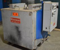 GASMATIC ELECTRIC PREHEAT OVEN WITH 850 DEG. F. MAX. TEMPERATURE, (6) CALORITECH 2.5 KW HEATERS,