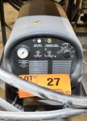 ESAB POWERCUT 1125 PLASMA CUTTER WITH CABLES, GUN & CART, S/N: N/A