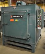 GRIEVE IC-1000 ELECTRIC INERT ATMOSPHERE TESTING OVEN WITH 1000 DEG. F. MAX. TEMPERATURE, 18 KW, 1.5