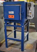 """PARK THERMAL ELECTRIC BOX FURNACE WITH 2300 DEG. F. MAX. TEMPERATURE, 14.4 KW, 13.5""""X12""""X24""""D"""
