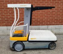 """CROWN (2011) WAV50-118 250 LB. CAPACITY ELECTRIC ORDER PICKER WITH 118"""" MAX. LIFT HEIGHT, 1672"""